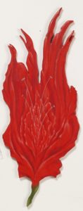 Red Rose /2011 eggtempera on wood