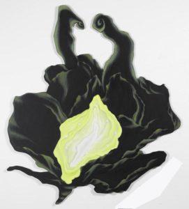 Creations ll, 2013, eggtempera on wood, 118 x 102 cm.